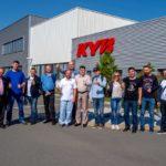 Компании KYB принимала гостей главного финала